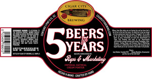 5 Beers For 5 Years
