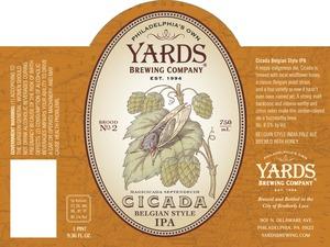 Yards Brewing Company Cicada