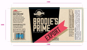 Hawkshead Brewery Brodie's Prime