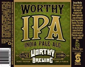 Worthy IPA December 2013