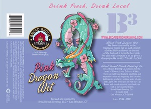 Broad Brook Brewing Company Pink Dragon Wit