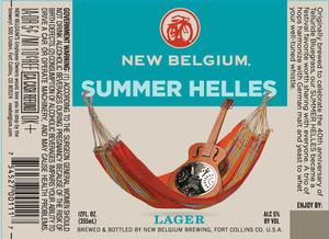 New Belgium Brewing Summer Helles