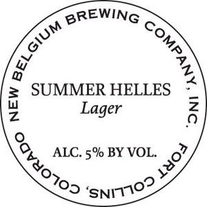 New Belgium Brewing Company Summer Helles