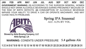 Abita Spring IPA Seasonal