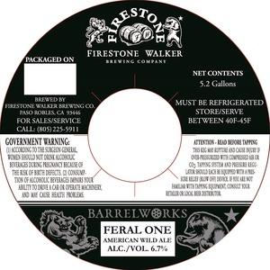 Firestone Walker Brewing Company Feral One