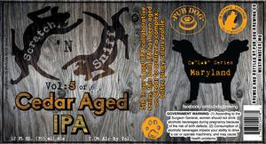 Pub Dog Cedar Aged IPA