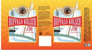 Flying Bison Brewing Company Buffalo Kolsch