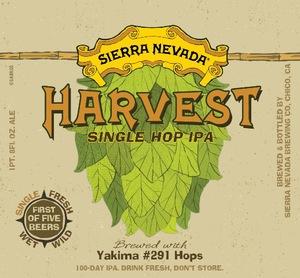 Sierra Nevada Harvest Single Hop IPA #291