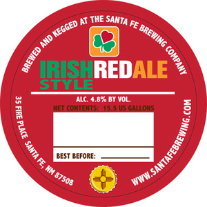 Santa Fe Brewing Co. Irish Red