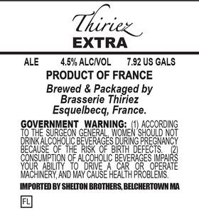 Brasserie Thiriez Extra