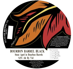 Allagash Brewing Company Bourbon Barrel Black