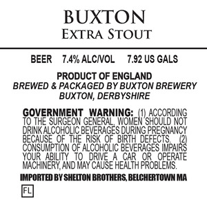 Buxton Brewery Extra Stout