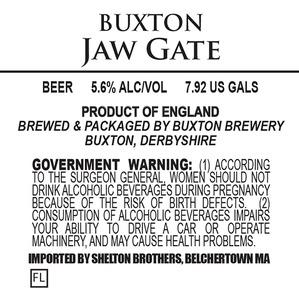 Buxton Brewery Jaw Gate