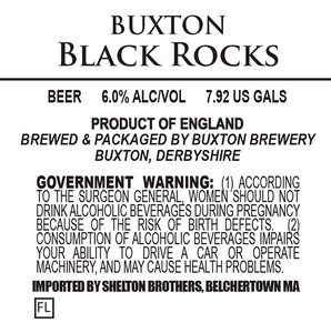 Buxton Brewery Black Rocks