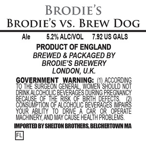 Brodie's Brewery Brodie's Vs. Brewdog