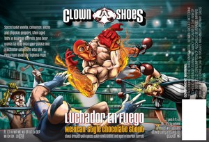 Clown Shoes Luchador En Fuego