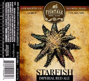 Fish Tale Reel Ales Starfish