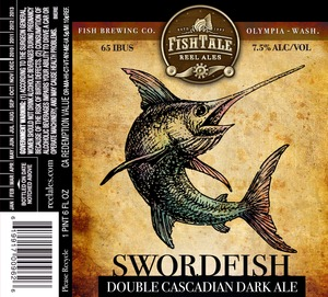 Fish Tale Reel Ales Swordfish Double Cascadian Dark