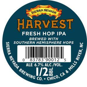 Sierra Nevada Harvest Fresh Hop IPA - Southern Hemi
