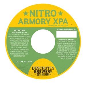 Deschutes Brewery Nitro Armory