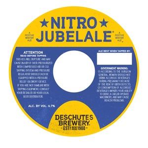 Deschutes Brewery Nitro Jubelale