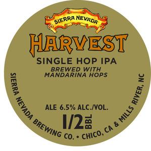 Sierra Nevada Harvest Single Hop IPA-mandarina