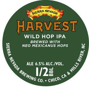 Sierra Nevada Harvest Wild Hop IPA-neo Mexicanus
