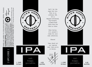 River North Brewery IPA