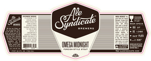 Ale Syndicate Brewers Omega Midnight Foreign-style