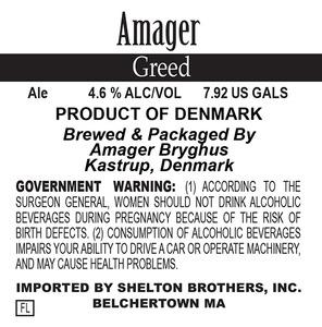 Amager Bryghus Greed