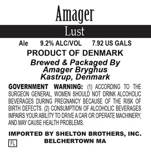 Amager Bryghus Lust