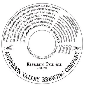 Anderson Valley Brewing Company Keebarlin'