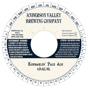 Anderson Valley Brewing Companya Keebarlin'