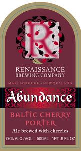 Renaissance Brewing Company Abundance