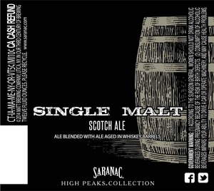 Saranac Single Malt