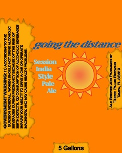 Three Palms Brewing Going The Distance