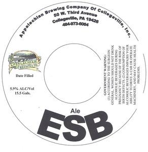 Appalachian Brewing Co Esb