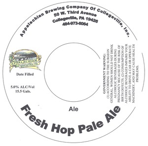 Appalachian Brewing Co Fresh Hop