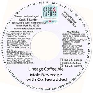 Cask & Larder Lineage Coffee Ale