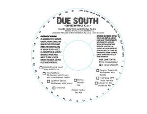 Due South Brewing Co. Asylum Harbor
