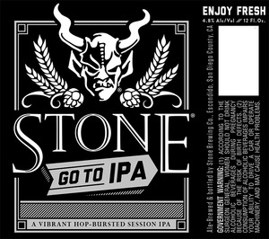 Stone Brewing Co Stone Go To IPA