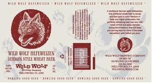 Wild Wolf Brewing Company Wild Wolf Hefeweizen