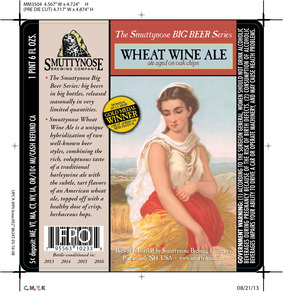 Smuttynose Brewing Co. Wheat Wine Ale