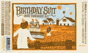 Uinta Brewing Company Birthday Suit Sour Farmhouse Ale