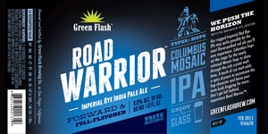 Green Flash Brewing Company Road Warrior