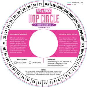 Red Brick Hop Circle