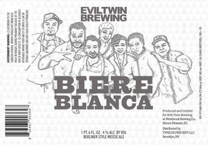 Evil Twin Brewing Blanca