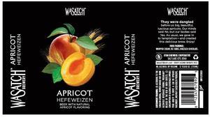 Wasatch Apricot Hefeweizen January 2014
