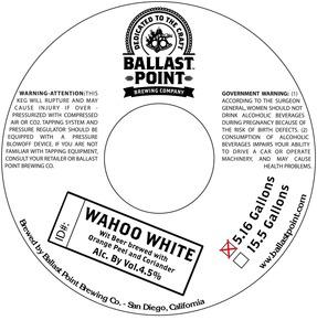 Ballast Point Brewing Company Wahoo