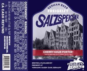 Freigeist Salzspeicher Cherry Sauer Porter